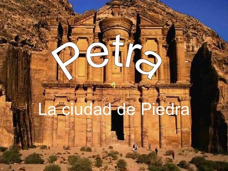 La ciudad de Piedra Petra