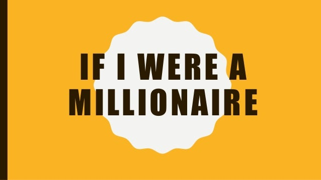 if i were a millionaire by petra