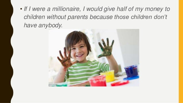 If I Were a Millionaire Essay for School Students