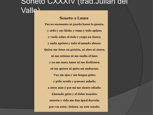 Análisis del soneto  Este poema se compone de dos cuartetos y dos tercetos, por lo que lleva a decir que es un soneto, y ...