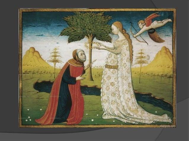 Análisis del soneto  Petrarca demuestra sus sentimientos en estos versos manifestando su dolor, su ganas de derribarse an...