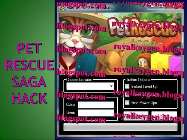 Pet rescue saga hack tool v3. 2 - updated 25/7/2014 youtube.