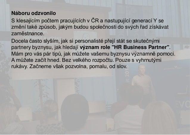 Petr Hovorka - Náboru odzvonilo Slide 2