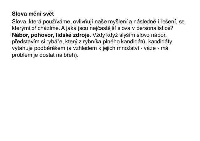 Petr Hovorka - Náboru odzvonilo Slide 3