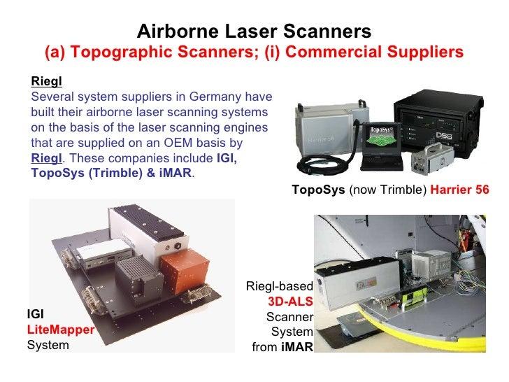 Airborne Laser Scanning Technologies