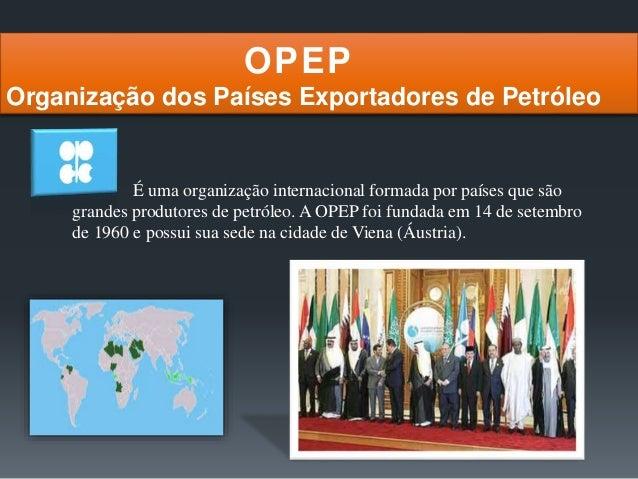 Petróleo no mundo