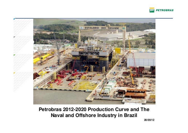 Petrobras 2012-2020 Production Curve and The     Naval and Offshore Industry in Brazil                                    ...