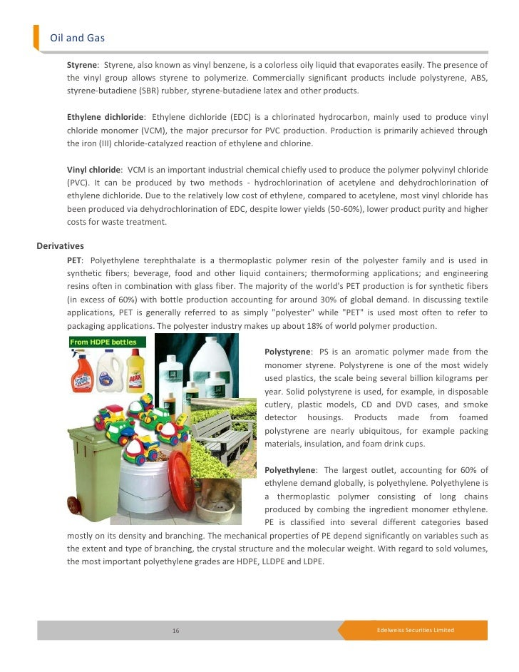 Petrochemicals Ethylene