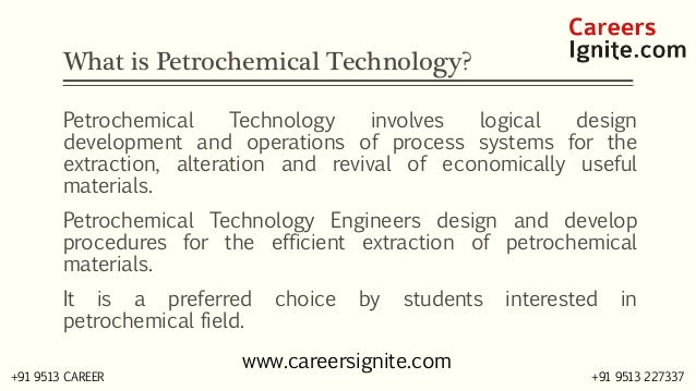 Petrochemical Technology Courses, Colleges, Eligibility Slide 2