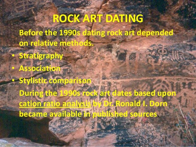 Cation-ratio dating method