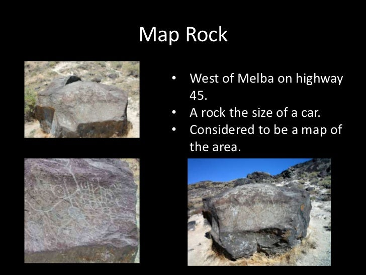 Melba Idaho Map.Petroglyphs In Idaho