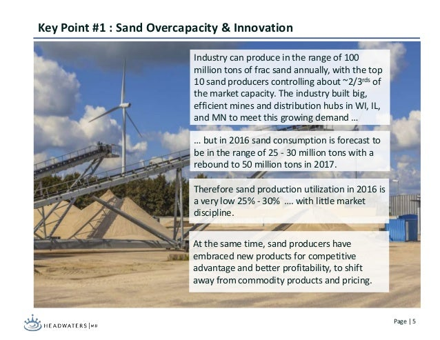 The Impending Sand Industry Consolidation