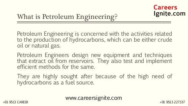 Petroleum Engineering Courses, Colleges, Eligibility Slide 2
