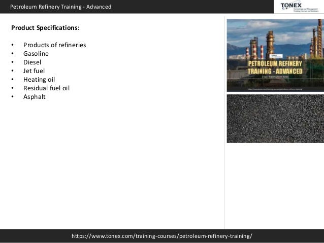 Petroleum Refinery Advanced   Tonex Training