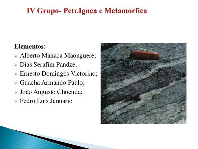 Elementos:  Alberto Manaca Maonguere;  Dias Serafim Pandze;  Ernesto Domingos Victorino;  Guacha Armando Paulo;  João...