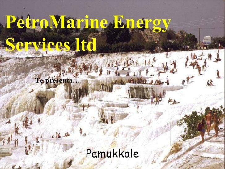 Pamukkale PetroMarine Energy Services ltd Te presenta…