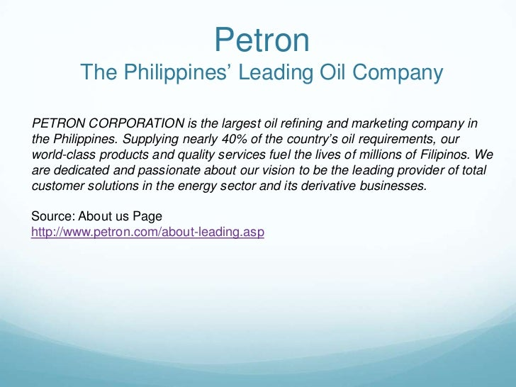 Petron Corporation (PCOR) - Financial and Strategic SWOT Analysis Review