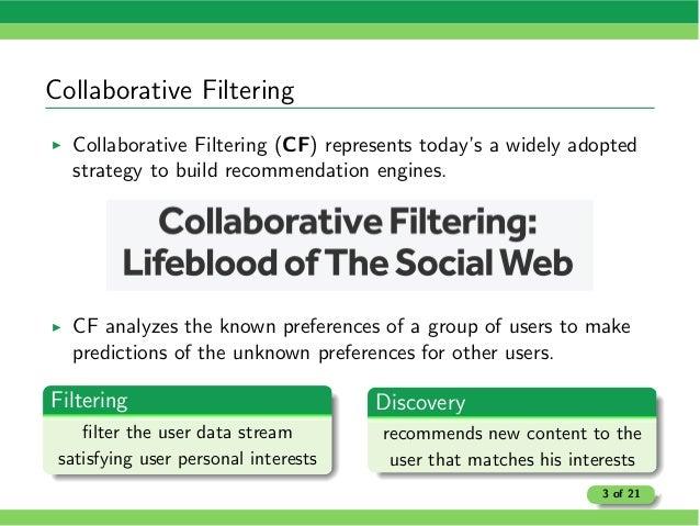 LCBM: Statistics-Based Parallel Collaborative Filtering Slide 3