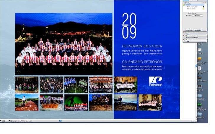 Petronor calendario-athletic-2009
