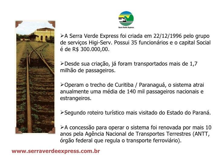 Trens da Serra Verde Express Slide 3
