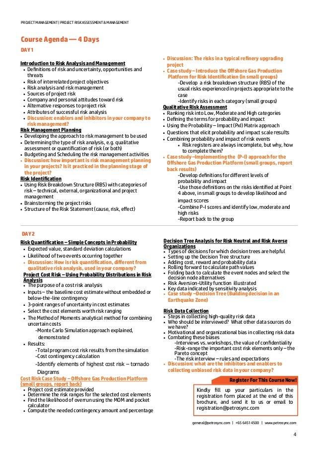 Petrosync - Project Risk Assessment & Management