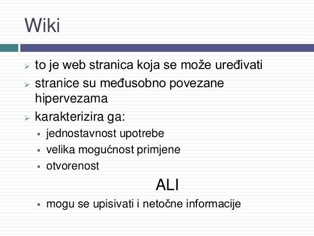 Web stranica za upoznavanje wikipedia
