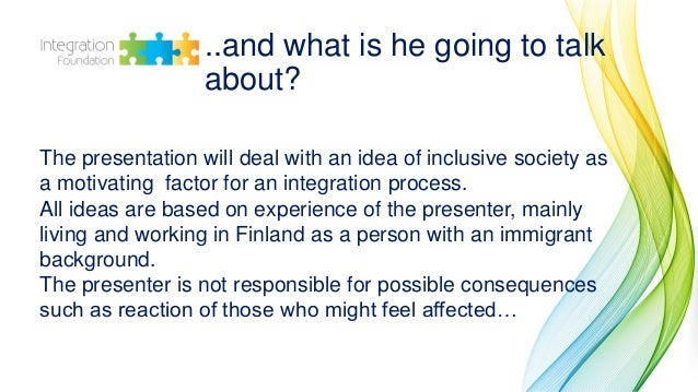 Petr Potchinchtchikov: What helps to create an inclusive civil society? Slide 3