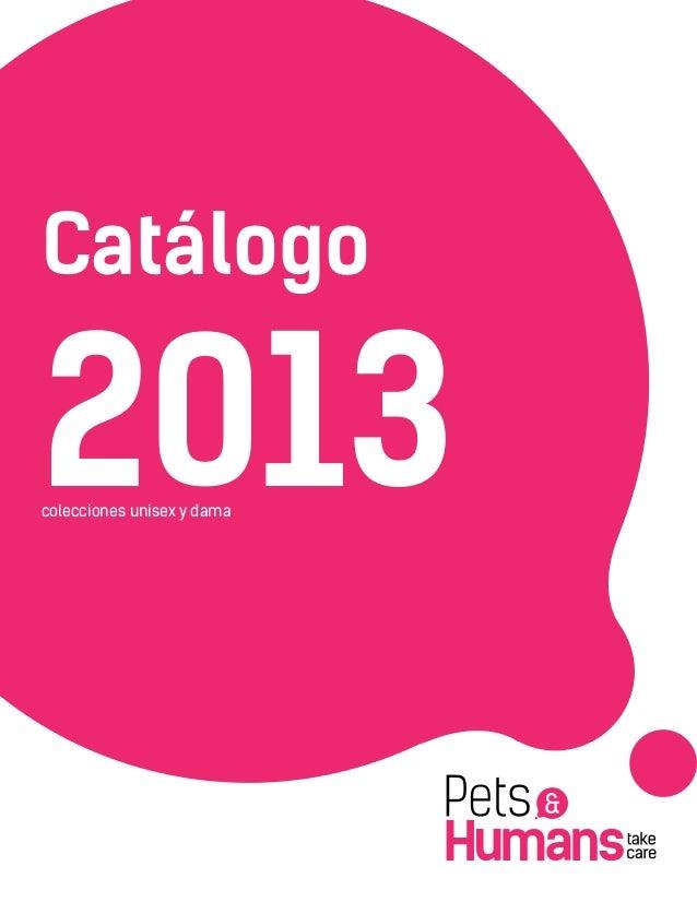 Catálogo 2013colecciones unisex y dama