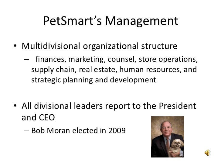 petsmart organizational structure 1 petsmart searches for a sustainable strategy abstract this case details a petsmart's struggle to find a sustainable strategy it was started as a.