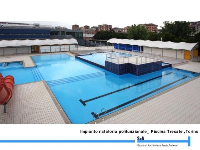 Paolo pettene studio di architettura paolo pettene - Trecate piscina ...