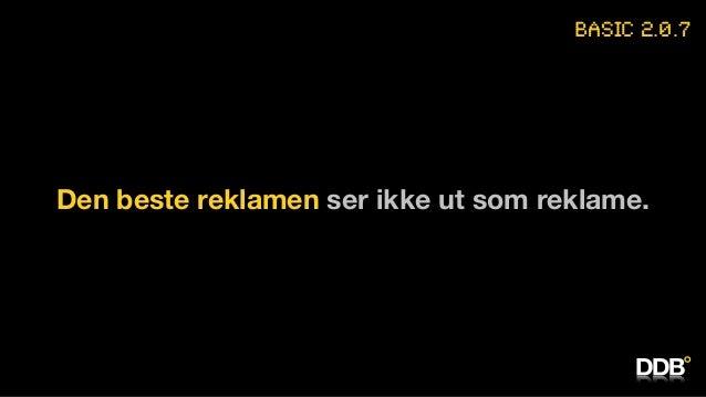 Petter Gulli: Basic 2.0 (Webdagene 2014)