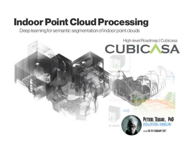 IndoorPointCloudProcessing Deep learningforsemanticsegmentation ofindoorpoint clouds