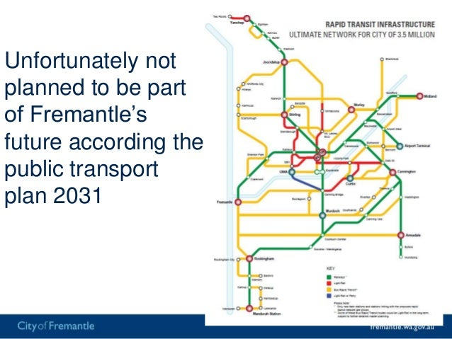 """Doesn't take into account the """"Spark Effect"""" ofrail• Growth by rail v bus use Mandurah line• Bus 14,000 per day• Rail 55,0..."""