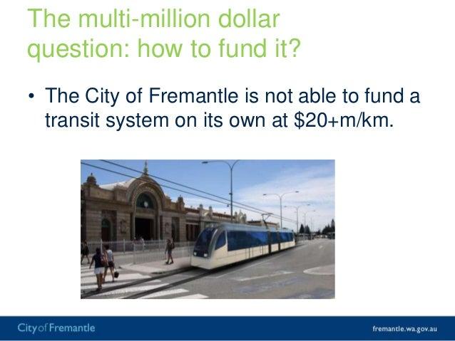Transforming Fremantle Through GreaterUrban Density in Central Fremantle