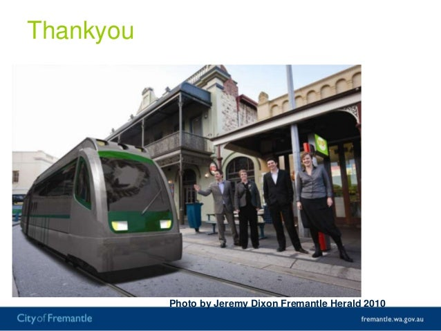 Connecting to the future: how transport will shape the City of Fremantle
