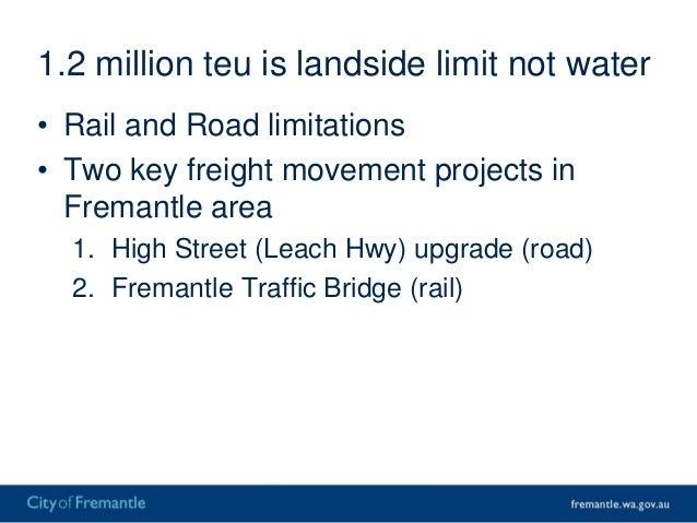 High Street (Leach Hwy) upgrade