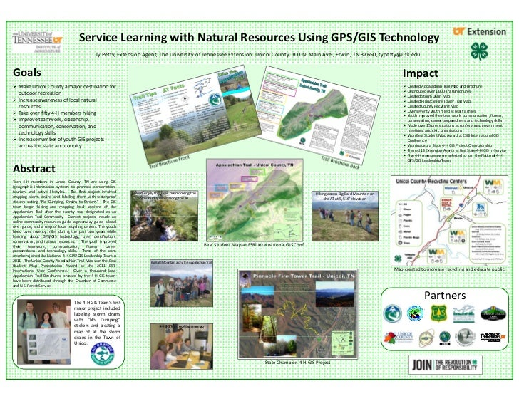 Service Learning with Natural Resources Using GPS/GIS Technology                                               Ty Petty, E...