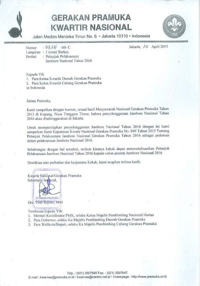 Petunjuk Pelaksanaan Jambore Nasional 2016