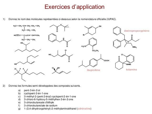 Telecharger Exercice Nomenclature Chimie Organique Pdf Chimie Organique Exercices Pdf Exercices Pdf Com