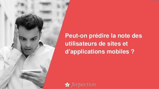 Peut-on prédire la note des utilisateurs de sites et d'applications mobiles ?