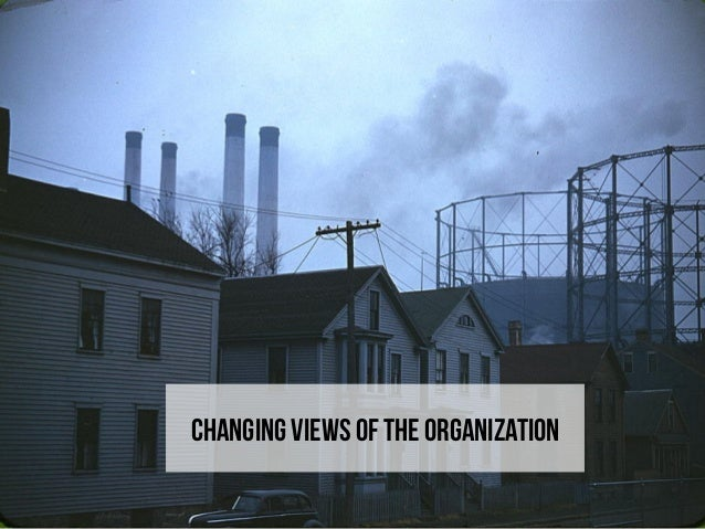 Changing views of the organization