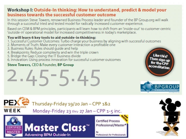 2.45-5.45  Thursday-Friday 19/20 Jan – CPP 1&2  Monday-Friday 23 thru 27 Jan – CPP 1-5 inc.