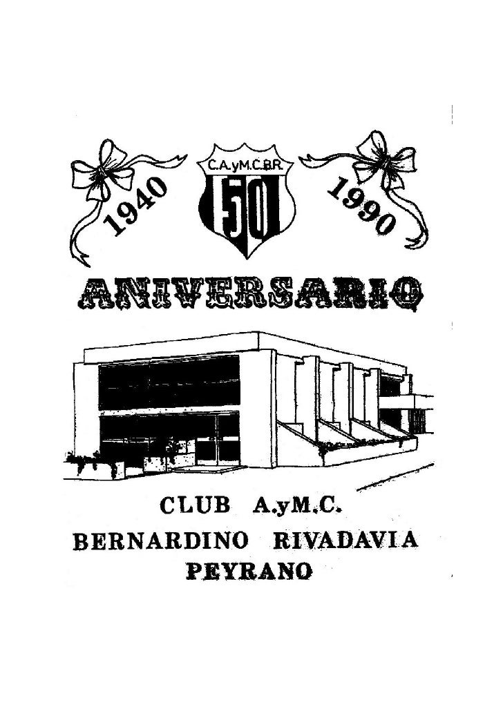 CLUB A..yM.C. BERNARDINO RIVADAVI A       PEYRANO
