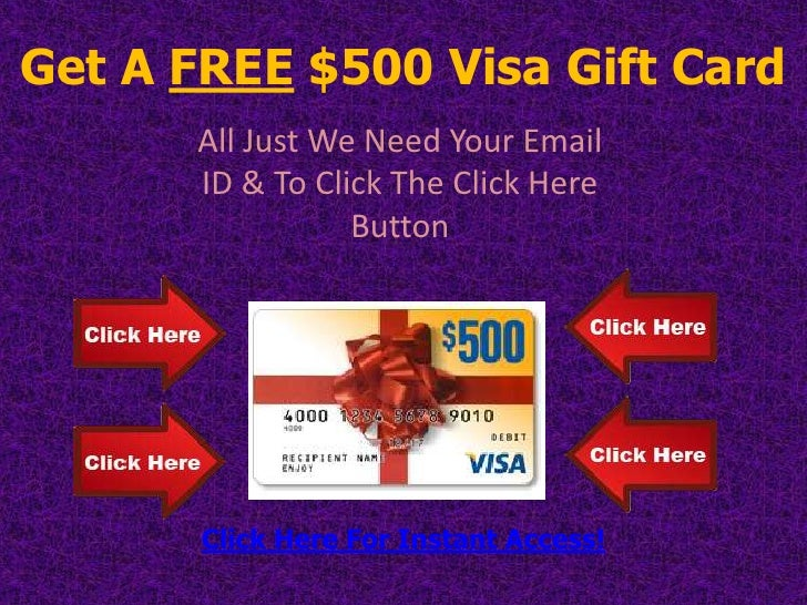 get a free 500 visa gift cardall just we need your - 500 Visa Gift Card