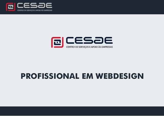 PROFISSIONAL EM WEBDESIGN