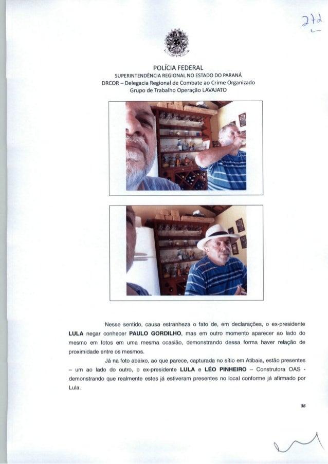 POLÍCIA FEDERAL SUPERINTENDÊNCIA REGIONAL NO ESTADO DO PARANÁ DRCOR - Delegacia Regional de Combate ao Crime Organizado Gr...