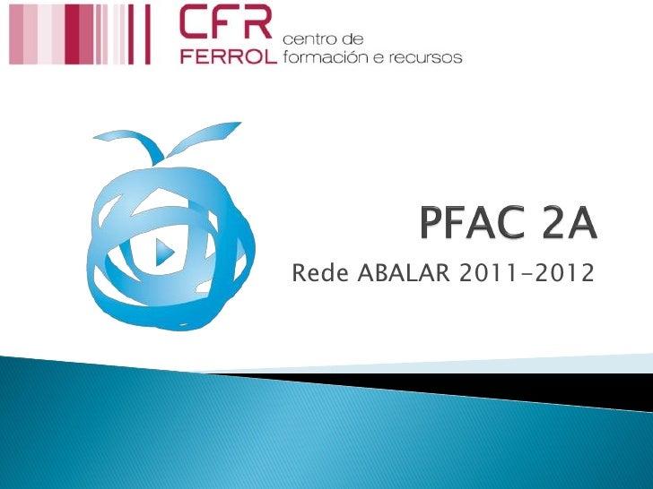 Rede ABALAR 2011-2012