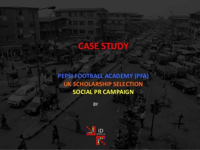 Noco soccer academy case study