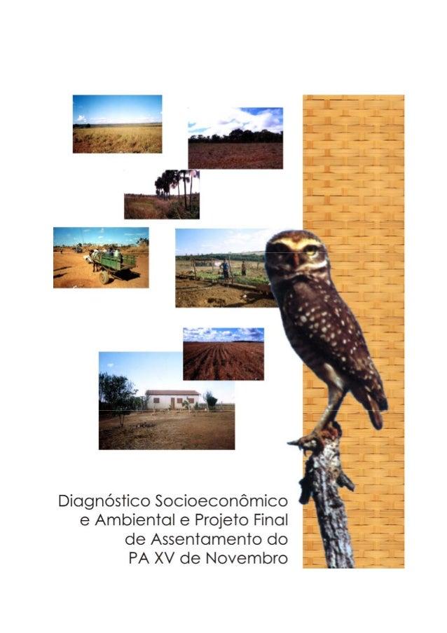 2 Anotação de Responsabilidade Técnica PA XV DE NOVEMBRO Coordenação José Ambrósio Ferreira Neto Sociólogo Consultores Már...