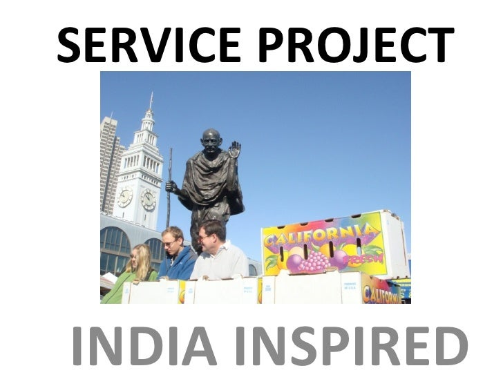 SERVICE PROJECT INDIA   INSPIRED
